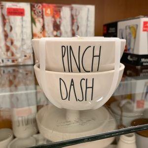 Rae Dunn Pinch & Dash Container Set